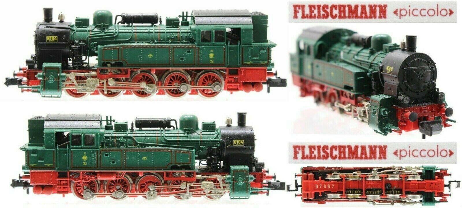 Fleischmann 7810 Vintage Vintage Vintage Steam Locomotive 0-10-0 Kpev 8164 T16 Lights Ladder-N eac5bf
