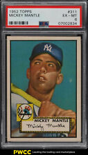 1952 Topps Mickey Mantle #311 PSA 6 EXMT (PWCC)