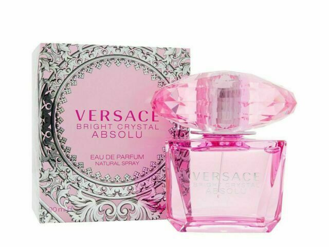 Versace Bright Crystal Absolu Eau De Parfum 90ml Edp Neu & Ovp