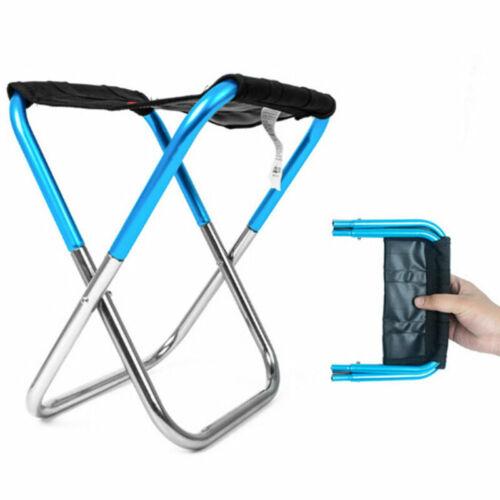 Mini Zusammenklappbarer Stuhl Wandern Rasen Picknick Camping Klapphocker Sitz ET