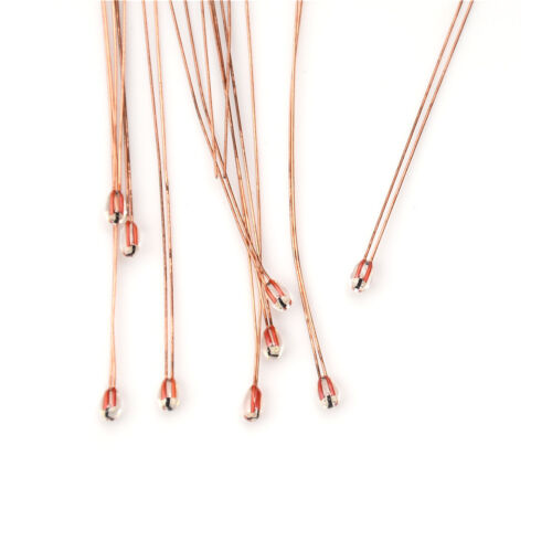 10pcs NTC 3950 1/% 100K ohm Thermistor For 3D Printer Printing Reprap Hotend P0CA