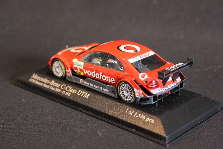 Minichamps Mercedes-Benz C-Class DTM DTM DTM 2006 1 43 Damon Hill (GBR) (JS) ebc8ba