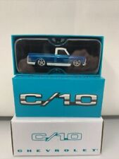 Hot Wheels Red Line Club RLC 1969 Chevy C//10 Blue Second Release Complete Mint