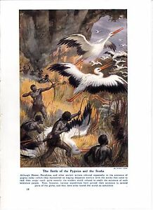 The-Battle-of-the-Pygmies-and-the-Storks-by-Arthur-Twidle
