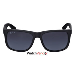 Ray-Ban-Justin-Classic-Polarized-Grey-Gradient-Sunglasses-RB4165-622-T3-55