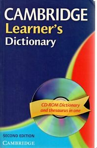 @X40 Cambridge Learner's Dictionary 2004 con CD-Rom