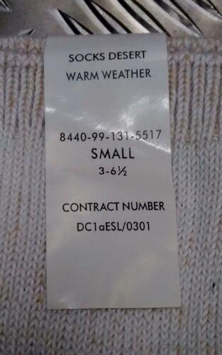 Genuine British Army Coolmax Warm Weather Desert Issue Combat Socks lot NEW