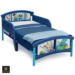 Toy Story Toddler Bed Frame Blue Set Full Buzz Lightyear ...