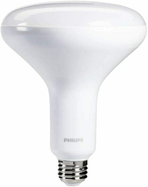 Daylight Led Bulbs: Philips 65W Daylight BR40 Dimmable LED 10W Indoor Flood