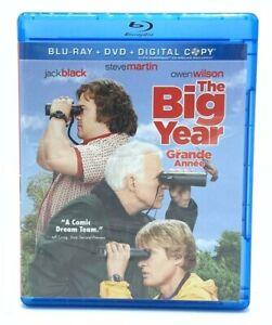 The Big Year (Blu-ray + DVD, 2012) Comedy Jack Black Steve Martin Owen Wilson