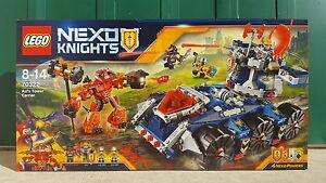 Lego Nexo Knights - Le Transporteur de Tour dAxl - 70322 - Neuf et scelle