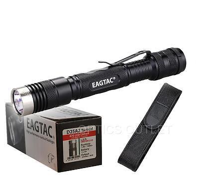 Eagletac D25A2 Tactical 470 Lumens Cree XM-L2 LED Flashlight Penlight - Use 2xAA