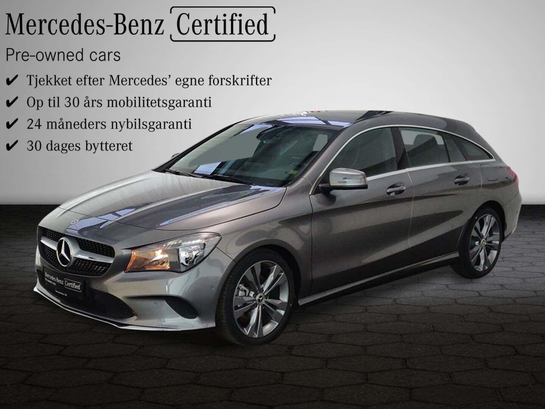 Mercedes CLA200 1,6 SB aut. 5d - 355.300 kr.