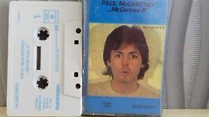 PAUL-McCarney-McCartney-11-cassette-tape-holland-RARE