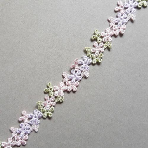 /'MAEVE/' Pastel floral lace trim