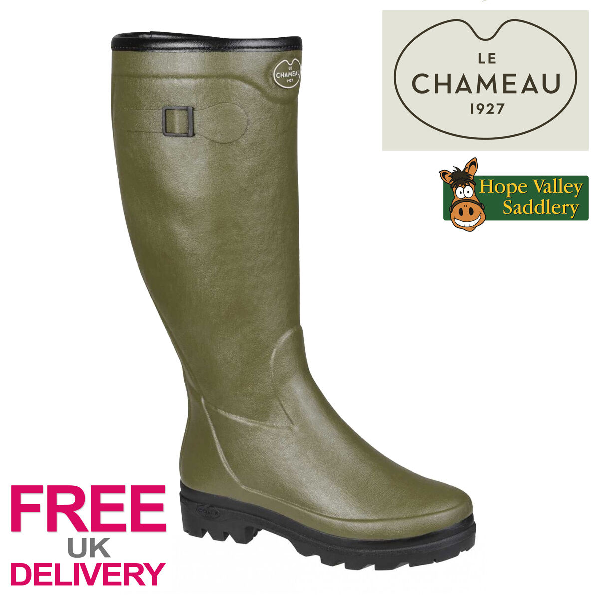 Le Chameau País Lady FOUREE Wellies (entrega UK LIBRE)