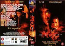 Kiss Of The Dragon, Jet Li, Bridget Fonda, VHS Promo Sample Sleeve/Cover #8096