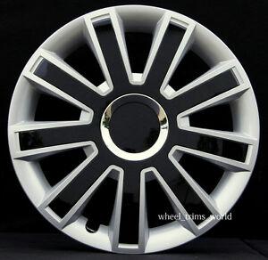 4x14 wheel trims to fit peugeot 107 206 306 406 partner. Black Bedroom Furniture Sets. Home Design Ideas