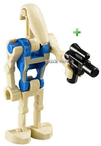 LEGO STAR WARS PILOT BATTLE DROID BLUE TORSO FIGURE NEW GIFT 7958-2011