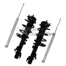 New Front Pair Complete Strut  Quick Unit And Rear Shocks Fits Mazda 3 04-09