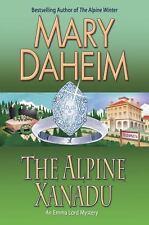 The Alpine Xanadu (Emma Lord Mystery, Book 24) - LikeNew - Daheim, Mary - Hardco