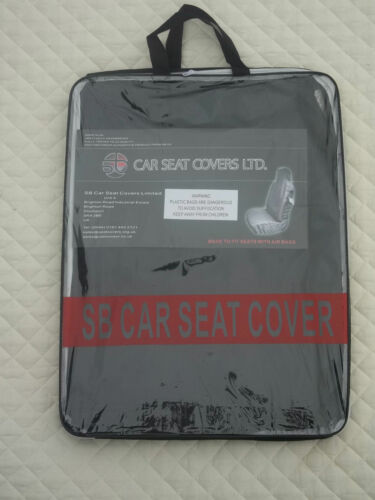 TO FIT A FORD KA CAR FULL SET i SEAT COVERS DELUXE WATERPROOF BLACK