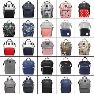 LEQUEEN-Large-Mummy-Maternity-Baby-Diaper-Nappy-Backpack-Mom-Changing-Travel-Bag