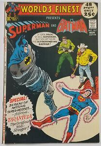 Worlds-Finest-Comics-207-VF-Superman-Batman-1971-Bronze-Age