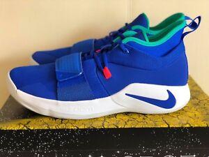 Pg White Mens Racer Basketball Shoes Teal 401 Bq8452 Nike Nib 2 Blue 5 adaSq