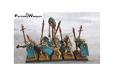 Games Workshop Warhammer Tomb Kings Skeleton Warriors Head Bit New Khemri OOP F