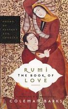 Rumi: The Book of Love: Poems of Ecstasy and Longing-ExLibrary