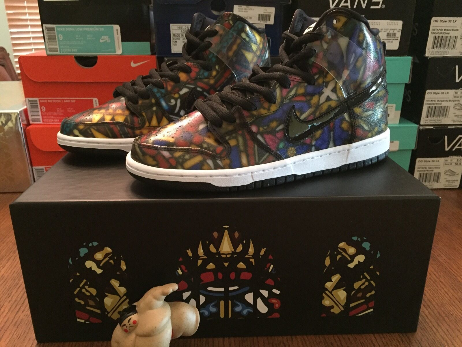 Nike SB x CNCPTS Dunk Hi Pro 9 SB Stained Glass sz 9 Pro Concepts Grail Collection DS 2e2f77