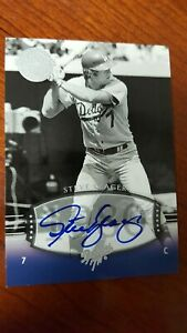 2004-STEVE-YEAGER-Auto-SP-176-UD-Timeless-Teams-Short-Print