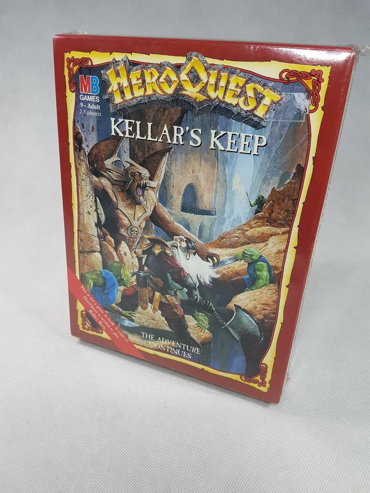 HeroQuest Kellar's Keep Expansion - BRAND NEW BNIB Still sealed [ENG, 1989]