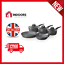 thumbnail 1 - Tower T81276 5pce Forged Pan Set with Non Stick Cerastone Coating in Grey - New