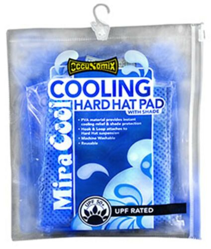"""Occunomix /""""Miracool/"""" Hard hat Cooling Pads and Neck Shades 4 Models /""""Be Cool/"""""""