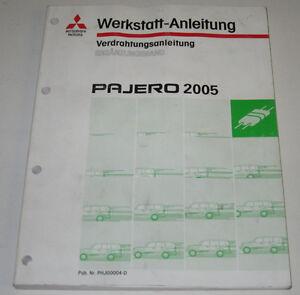 Werkstatthandbuch-Mitsubishi-Pajero-Typ-V60-Elektrik-ab-Baujahr-2005