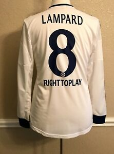 Chelsea-England-Lampard-8-Player-Issue-Formotion-Football-Shirt-Adidas-Jersey