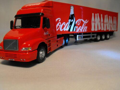 Modèle Volvo Artic Truck Coca Cola Frigo CAMION VOLVO NH12 camion rouge échelle 1:50