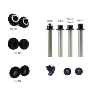 Novatec 791//792 411//412 hubs adapter front cap and rear axle for different axle