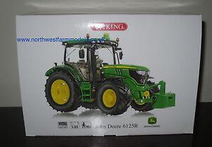 Tracteur modèle John Deere 6125r Wiking à l'échelle 1/32 4006190773188