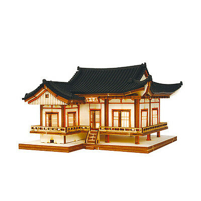 YM612 Ho Series - Imcheongak Gunjajeong - Wooden Model Kit