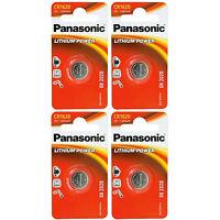4 Stück Cr1620 Panasonic Batterien - Lithium Power - Cr 1620 - Knopfzellen