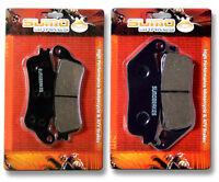 Honda F+r Brake Pads Fsc 600 Silverwing 2002 2003 2004 2005 2006 2007 2008 2009>