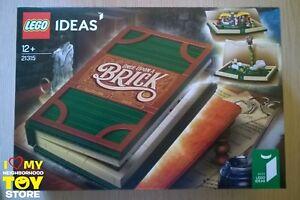 En stock - Lego 21315 Ideas # 023 Livre pop-up Libro (2018) Misb