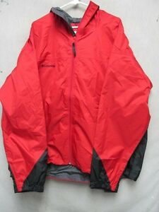 Nwt Resistant Canyon Columbia Water Jacket V6585 Redgray Creek qwFYEX
