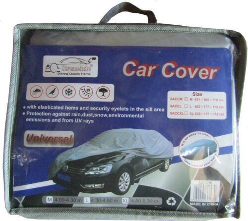 VW POLO 81-07 Waterproof Plastic Vinyl Breathable Car Cover /& Frost Protector