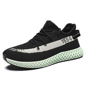 AU-Men-039-s-Running-Shoes-Yeezyl-Style-Breathable-Soft-Outdoor-Casual-Walking-Shoes