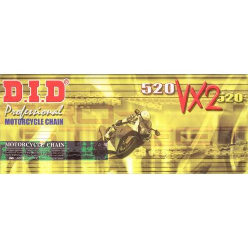ZX636C DID Kette 520VX2gold fr KAWASAKI ZX636 R Baujahr 05-06 ...