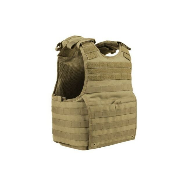 CONDOR EXO PLATE CARRIER MOLLE MILITARY PATROL VEST IN COYOTE / TAN   FIELD GEAR